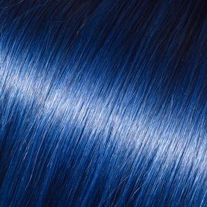 Barevné pramínky pro prodloužení vlasů, modrá, 50-60cm VEHEN s.r.o.