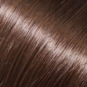 Evropské vlasy k podlužování vlasů, středně hnědá, 40-45cm VEHEN s.r.o.