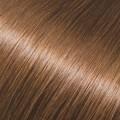 Evropské vlasy k prodloužení, světle hnědá, 30-35cm