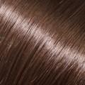 Evropské vlasy k prodloužení vlasů, středně hnědá, 65-70cm