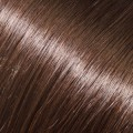 Evropské vlasy k prodloužení, středně hnědá, 50-55cm