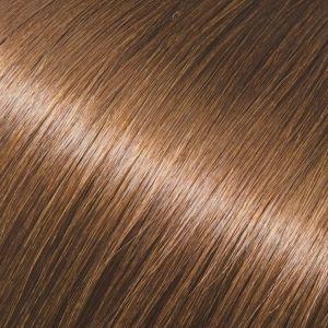 Evropské vlasy k prodlužování vlasů, světle hnědá, 30-35cm VEHEN s.r.o.