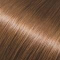 Evropské vlasy k prodloužení vlasů, světle hnědá, 60-65cm