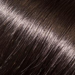 Evropské vlasy k prodlužování vlasů, tmavě hnědá, 45-50cm VEHEN s.r.o.