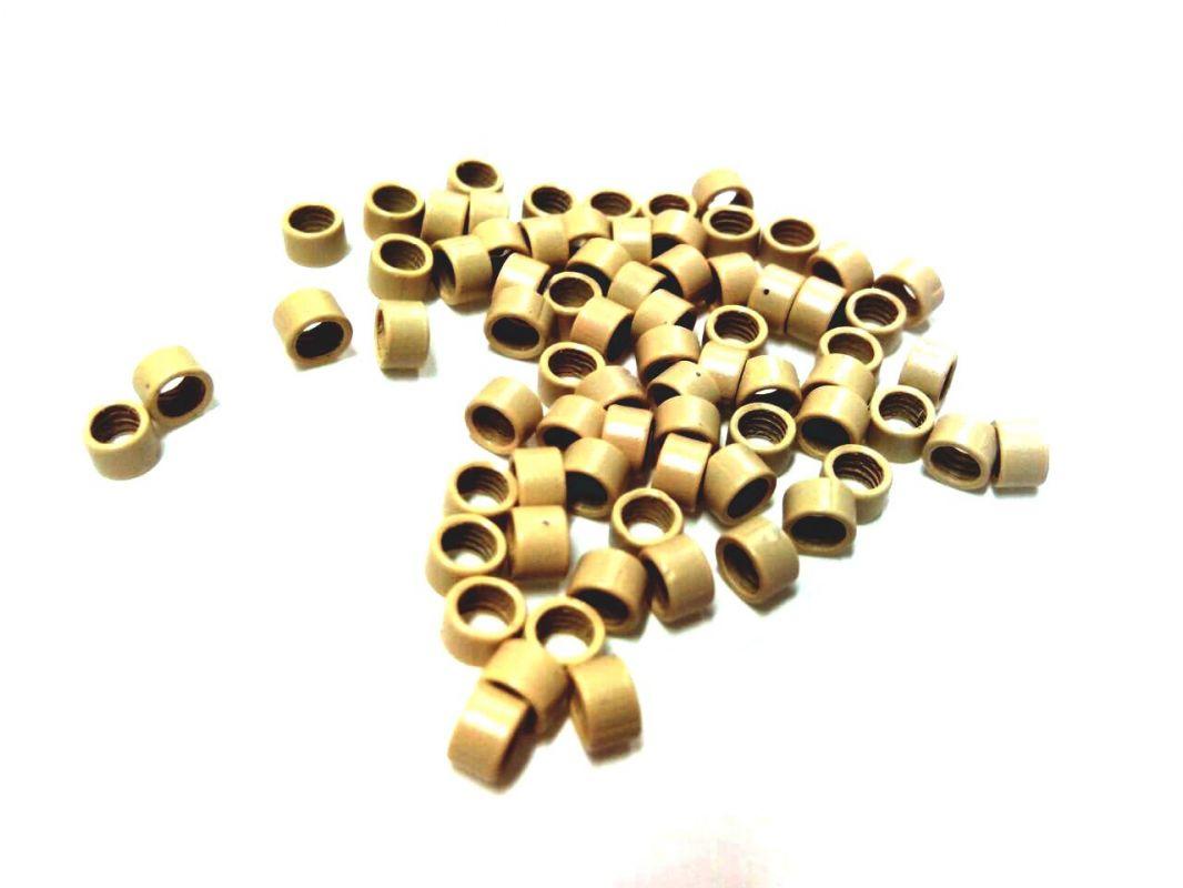 Micro ring 4mm, blond, na prodlužování vlasů VEHEN s.r.o.