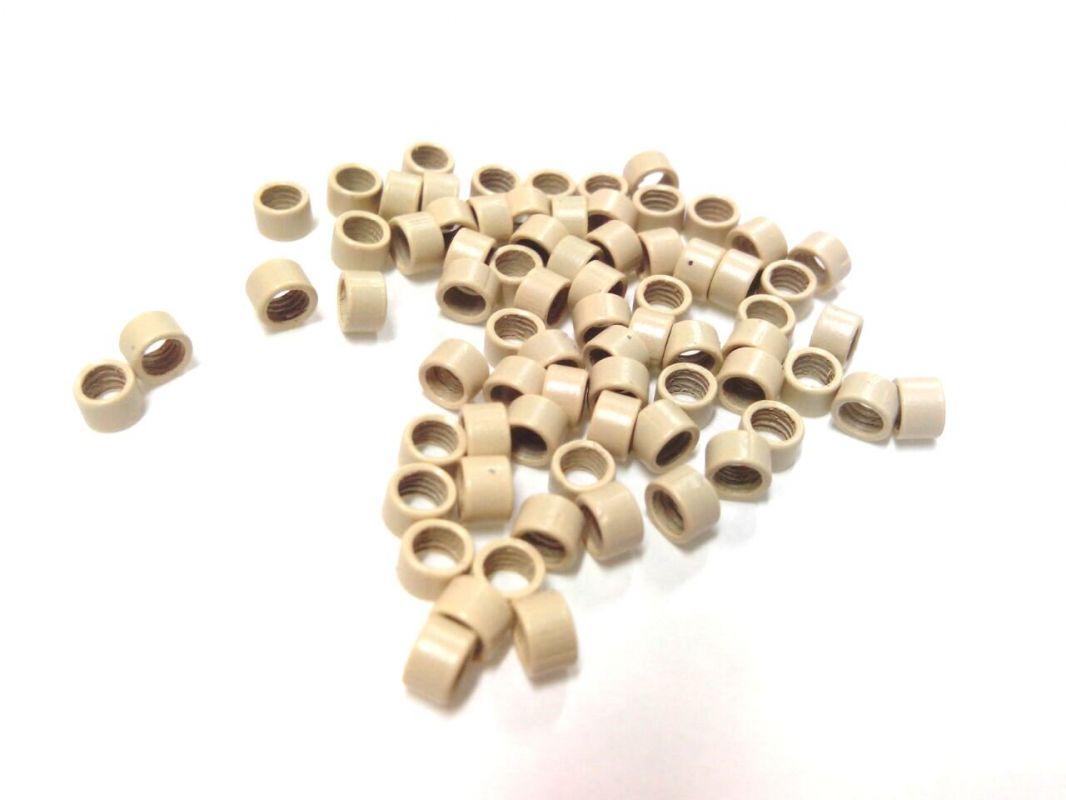 Micro ring 4mm, světlá blond, na prodlužování vlasů VEHEN s.r.o.