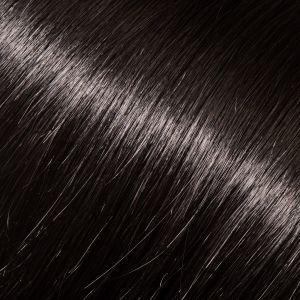Východoevropské vlasy k prodlužování vlasů, černá, 45-50cm VEHEN s.r.o.