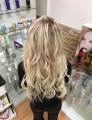 Evropské vlasy k prodloužení vlasů, světlá blond, 60-65cm VEHEN s.r.o.