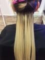 Východoevropské vlasy k prodloužení vlasů, světlá blond, 45-50cm VEHEN s.r.o.