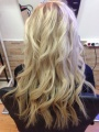 Východoevropské vlasy k prodlužování vlasů, světlá blond, 45-50cm VEHEN s.r.o.