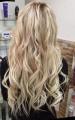 Východoevropské vlasy k prodlužování vlasů, světlá blond, 65-70cm VEHEN s.r.o.